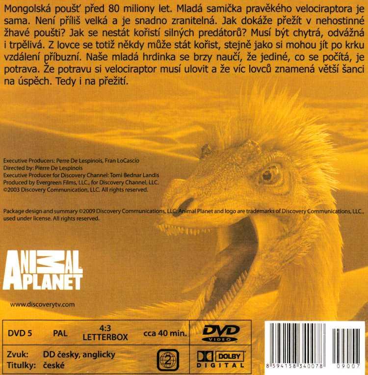 SVĚT DINOSAURŮ - Nebezpečný život saltosaura DVD