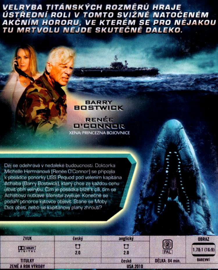 2010: MOBY DICK dvd