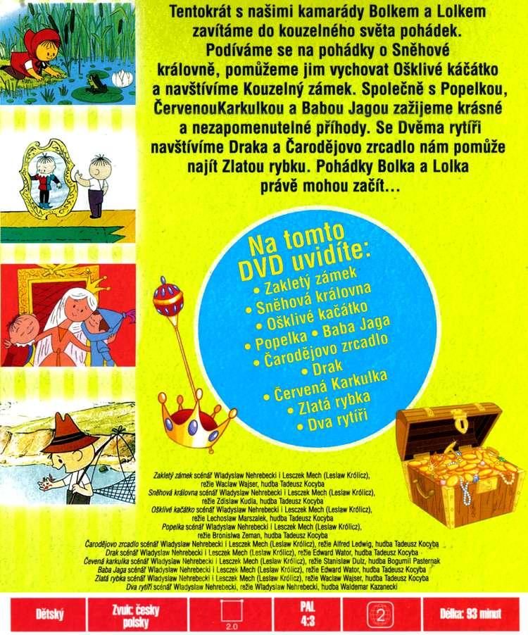 BOLEK A LOLEK POHÁDKY dvd