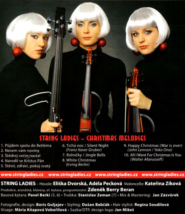 STRING LADIES CHRISTMAS MELODIES dvd