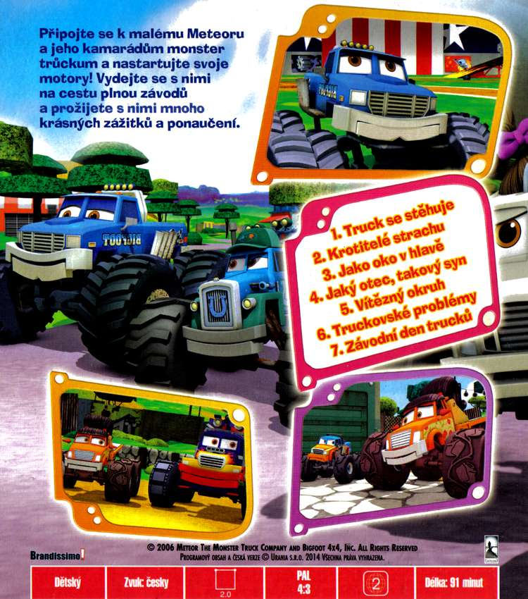 METEOR MONSTER TRUCKS dvd 8